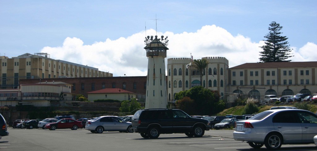 San Quentin. Not an inviting sight, even on a bright California day.